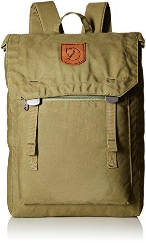 Fjällräven Unisex Rucksack Foldsack No.1, Green, 40 x 30 x 15 cm, 16 Liter, 24210