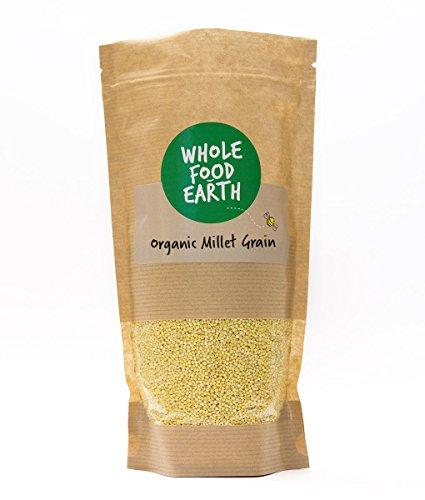 Wholefood Earth: Organic Millet Grain 500g | GMO Free Test
