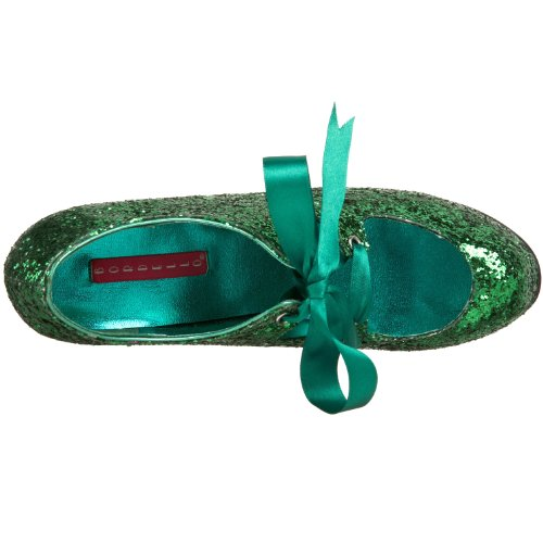 Bordello TEE10G/PUR EscarpinsTeeze Femmes Green Gltr