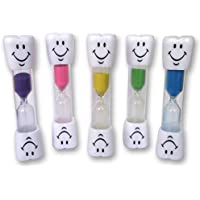 Temporizador reloj arena dientes 2 minutos cepillado infantil_20 unidades (Verde)