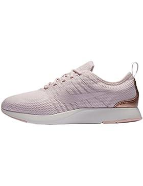 Nike Zapatillas Dualtone Racer (GS) Rosa/Rosa/Dorado Talla: 38,5