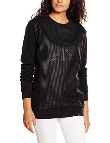 One piece Sweater London, Sweatshirt Sportswear Femme Noir - Noir