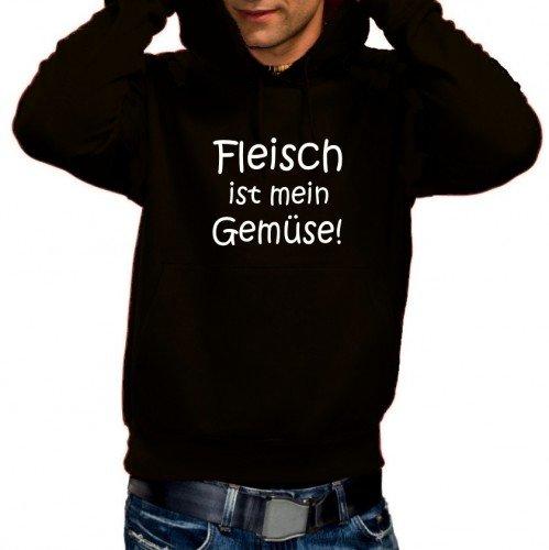 fleisch-ist-mein-gemuse-grill-hoodie-sweatshirt-m-kapuze-schwarz-grxxxl
