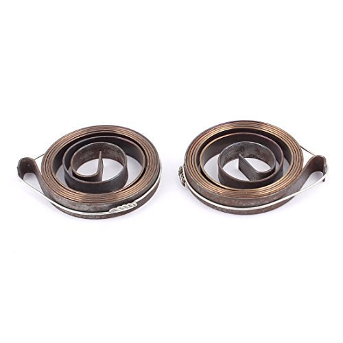 Coil Spring Tool (DealMux a15121800ux0660 6 mm Breite Metallbohrer Pinolenvorschub Return Coil Spindel SPRING 2Pcs,)