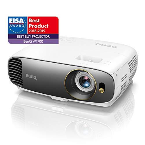 BenQ CineHome (W1700) Vidéoprojecteur Véritable 4K UHD HDR, Home...