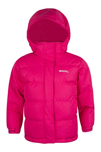 mountain-warehouse-chaqueta-acolchada-impermeable-snow-para-ninos-rosa-brillante-5-6-anos