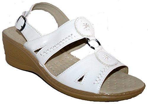 Cushion Walk , Sandales pour femme Blanc