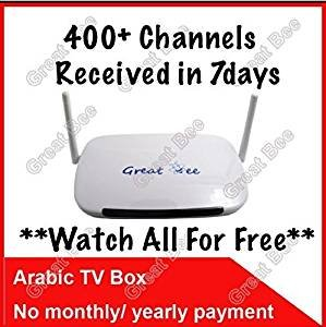 400 Arabic Live TV Free Forever for Life Time