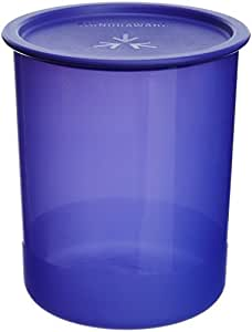 Signoraware Center Press Container, 2 Litres, Deep Violet