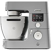 Kenwood Cooking Chef Gourmet KCC9060S | Küchenmaschine mit Kochfunktion |starke 1500 Watt Motorleistung | 6,7 l Rührschüssel | mit umfangreichem Zubehör | Induktion 20-180°C