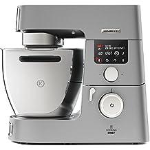 Kenwood Electronics KCC9060S 1500W 7L Plata - Robot de cocina (7 L, Plata, 20 - 180 °C, Acero inoxidable, Metal, LCD)