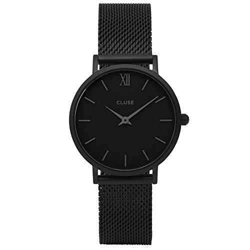 Cluse-Damen-Armbanduhr-Analog-Quarz-Edelstahl-CL30011