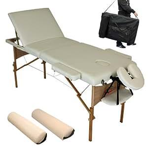 Tectake lettino massaggi estetista massaggio portatile for Lettino estetista portatile