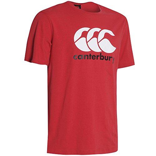 Canterbury Herren Bekleidung CCC Logo T Shirt rot - rot
