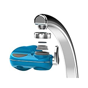 Faucet Water Filter, Webat Horizontal Faucet Mount 5-Stage Mieral Water Filter