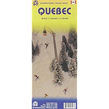 Québec : 1/1,100,000 / 1/1,750,000
