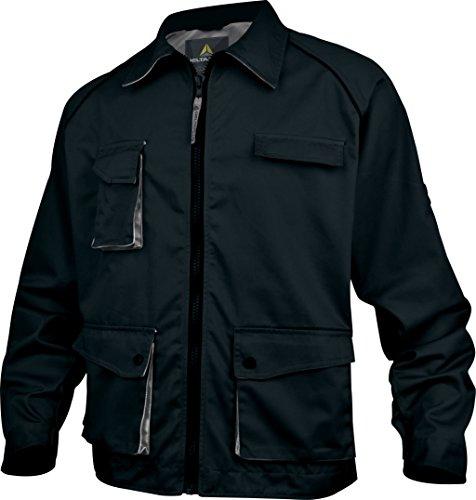 Panoply - Veste de travail mach2 en polyester / coton M2VES Noir