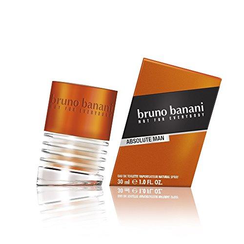 bruno banani Absolute Man – Eau de Toilette Natural Spray – Aufregend-maskulines Herren Parfüm – 1er Pack (1 x 30ml)