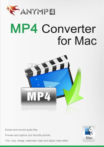 AnyMP4 MP4 Converter für Mac Lifetime License - DVD und Video in MP4 auf Mac umwandeln [Download] Lg Ipod Video