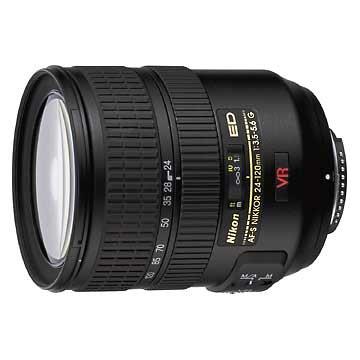 Nikon AF-S VR 24-120 mm f/3.5-5.6 G IF ED pour Nikon D700
