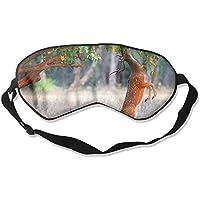 Cute Deer In The Jungle Looking For Food 99% Eyeshade Blinders Sleeping Eye Patch Eye Mask Blindfold For Travel... preisvergleich bei billige-tabletten.eu