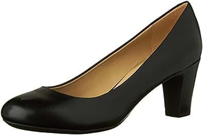 Geox D Mariec Mid B D32T7B43C9999, Escarpins femme, Noir (Black C9999), 42