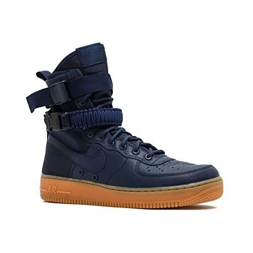 41ACaZd%2BkrL. SS500  - Nike Men's Sf Af1 Mid PRM Fitness Shoes
