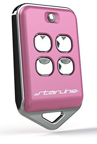 STARLINE Radiocomando Marca Modello BM4® 433 MHz Compatibile con radiocomandi di Marca BFT®, Modelli:TRC1®, TRC2®,TRC4 MITTO 2®, MITTO 4®, BRCB02 ®, BRCB04®. Rosa