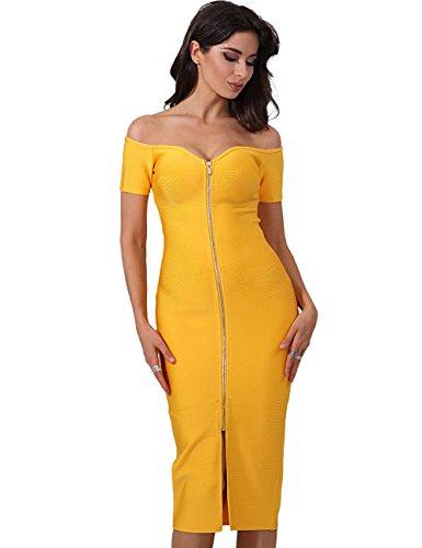 Kleid kleid orange midi - bodycon auch elegante cocktailkleid f¨¹r luxus - event / hochzeit gr??e m uk 10 / 12 (Single Zu Halloween)