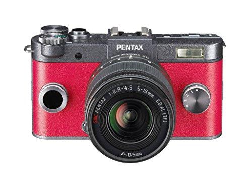 Pentax Q-S1 Kit con Obiettivo da 5-15mm e f/2.8-4.5 e con Fotocamera Mirrorless ad Ottiche Intercambiabili, Sensore CMOS da 1/1.7