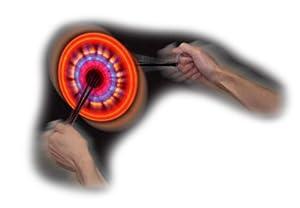 Light Show Spinners - Juguete de electrónica (Funtime Gifts PT7600) (versión en inglés)