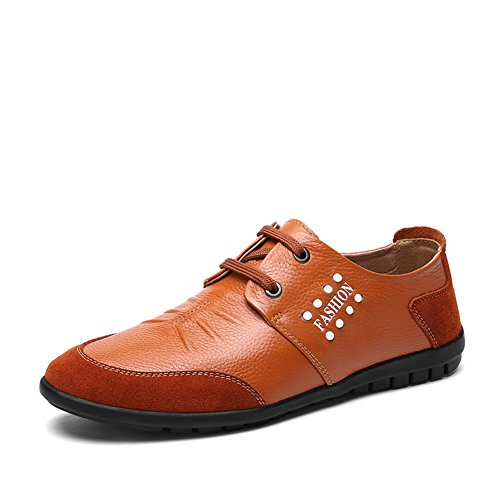 Scarpe casual business di estate/Inghilterra, traspirante scarpe Marrone