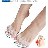 LPWORD Gel Toe Separator, Gel Corrector Toe Protektoren Haarglätter Flexible Toe Spacer Spreader Gummi Toe Stretchers... preisvergleich bei billige-tabletten.eu