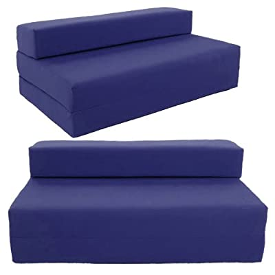 SOFABED - NAVY BLUE double Sofa bed chair futon