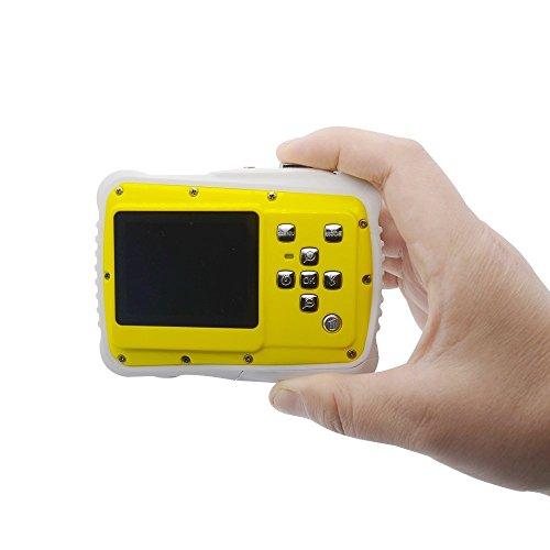 Preisvergleich Produktbild Unterwasser Action Kamera 8M Pixel HD Compact Digital Kamera DV Camcorder für Kinder/Kinder Jungen Mädchen Geschenk 3m wasserdicht staubdicht Kinder Kamera 5,1cm TFT LCD
