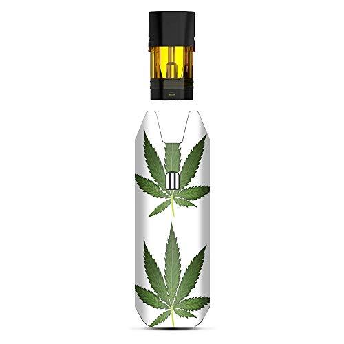 It's a Skin Aufkleber, Vinylfolie, kompatibel mit STIIIZY BIIIG Big TM Premium Verdampfer-Aufklebern, Schutzhülle für Vape-Aufkleber, Topfblatt, Unkraut, Marihuana Bud (Unkraut-shisha)