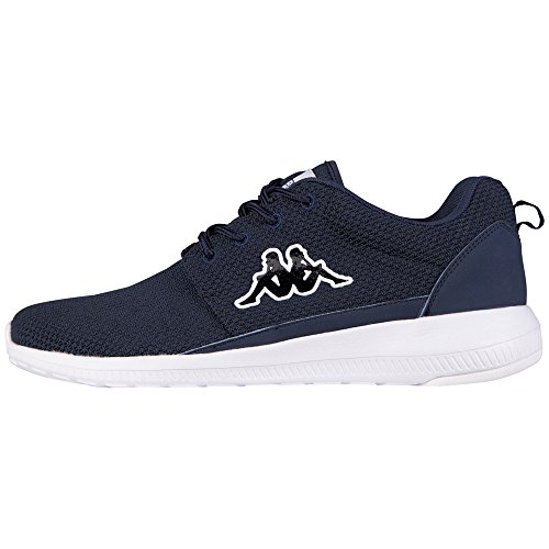 Kappa - Speed Ii Footwear Unisex, Mesh/Synthetic, Scarpe da ginnastica Unisex – Adulto Blu (6710 Navy/white)