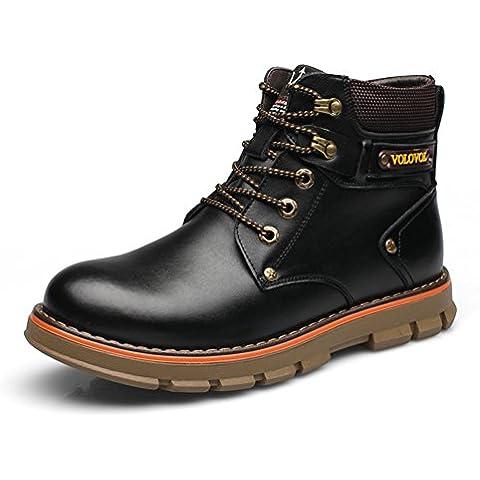 LYF KIU Martin stivali/ scarpe di ricreazione di inverno dell'Inghilterra/ e giù per tenere caldo stivaletto/ big head Utensileria stivali