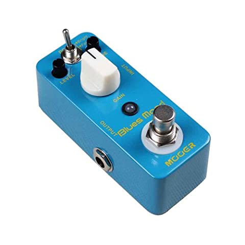 Mooer-mood blues blues drive pédale d'effet pour guitare électrique et basse électrique