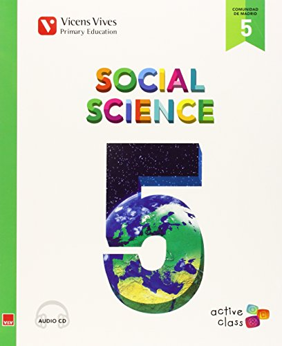 Social Science 5 Madrid+ Cd (active Class) - 9788468227948