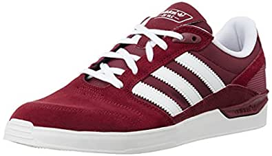 adidas Originals Men's Zx Vulc Red and White Sneakers- 7 UK
