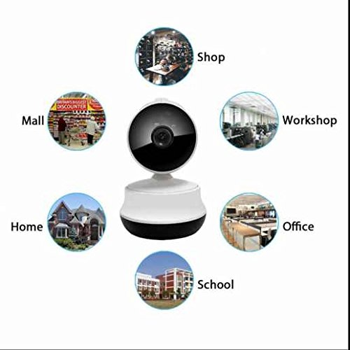 Indoor Wireless Security ip kamera Remote Viewing Funktion,Zwei Wege Video,PIR Nachtsichtmodus,bidirektionaler Sound,drahtlos Alarmanlagen,Aufnahme funktion (2 Wireless Security Kameras)
