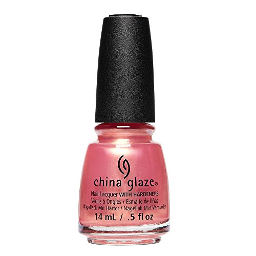 China glaze Nail Lacquer - Moment In The Sunset (Pink/Peach Shimmer), 14 ml