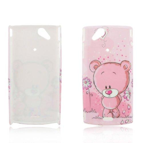 Sony Ericsson Xperia Arc/Arc S Hard Case Süßer Bär Design Schutz Handy Hülle Case Tasche Etui Bumper thematys®