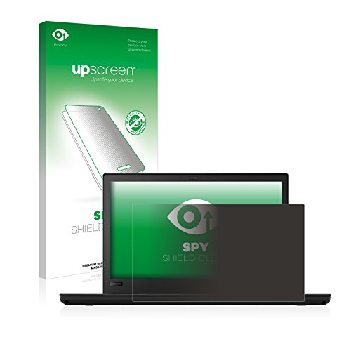 upscreen Anti-Spy Blickschutzfolie kompatibel mit Lenovo ThinkPad T480 Privacy Screen Displayschutzfolie - Sichtschutz, Kratzfest Screen Filter Kit