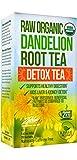 Tè alla radice di tarassaco - Tè crudo e biologico, ricco di vitamine e in grado di coadiuvare la digestione - 20 bustine da 2 g ciascuna - Tè depurativo - Antinfiammatorio e antiossidante