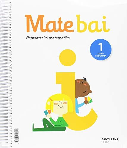 MATE+ 1 PRIM MATEM PARA PENSAR EUS