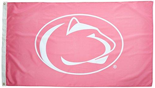 BSI NCAA Penn State Nittany Lions Flagge mit grommets-pink Design (3x Geschenkpapierrolle 150cm)