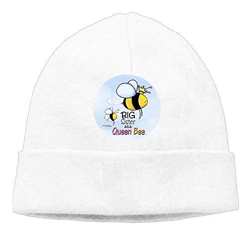 Preisvergleich Produktbild Momen Queen Bee - Big Sister Soft Travel Black Beanies Knit Hat