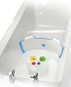 new babydam bathwater barrier baby bath tub converts a standard bath to a baby bath. Black Bedroom Furniture Sets. Home Design Ideas